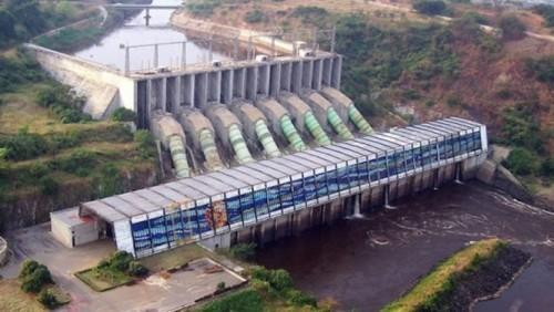 Barrage hydro électrique au Cameroun
