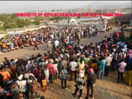 [Fact-Checking]:Thousands Scramble for Aid after Minister said there's no Humanitarian Crisis in Cameroon