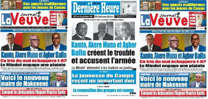 Non, MINDEF n'a jamais porté plainte à Kamto, Akere Muna et Agbor Balla.