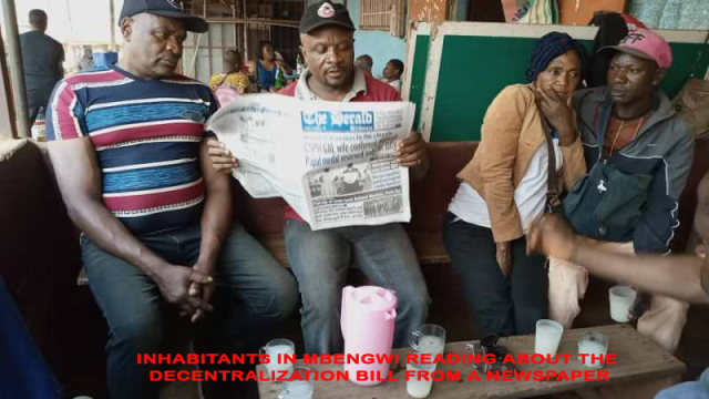 Solving the Anglophone Crisis: Parliament Enacts Rejected Decentralization Bill