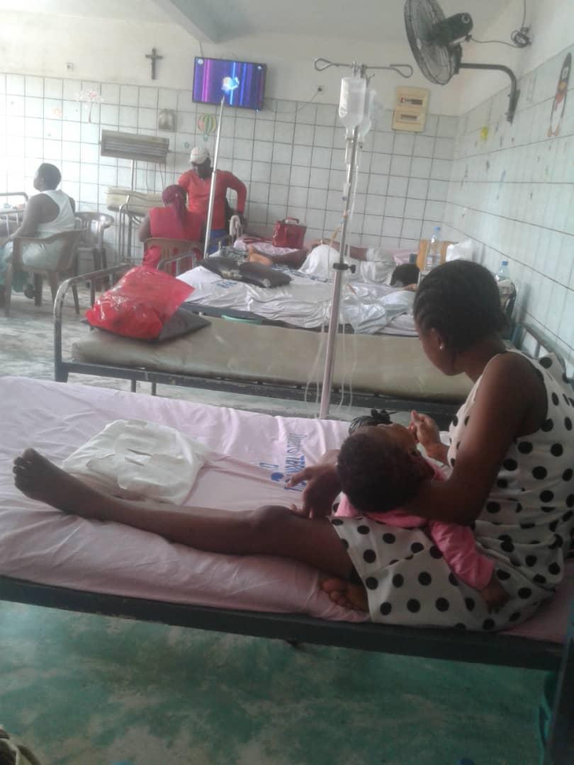 Santé : Laquintinie libère l'un des 2 enfants séquestrés