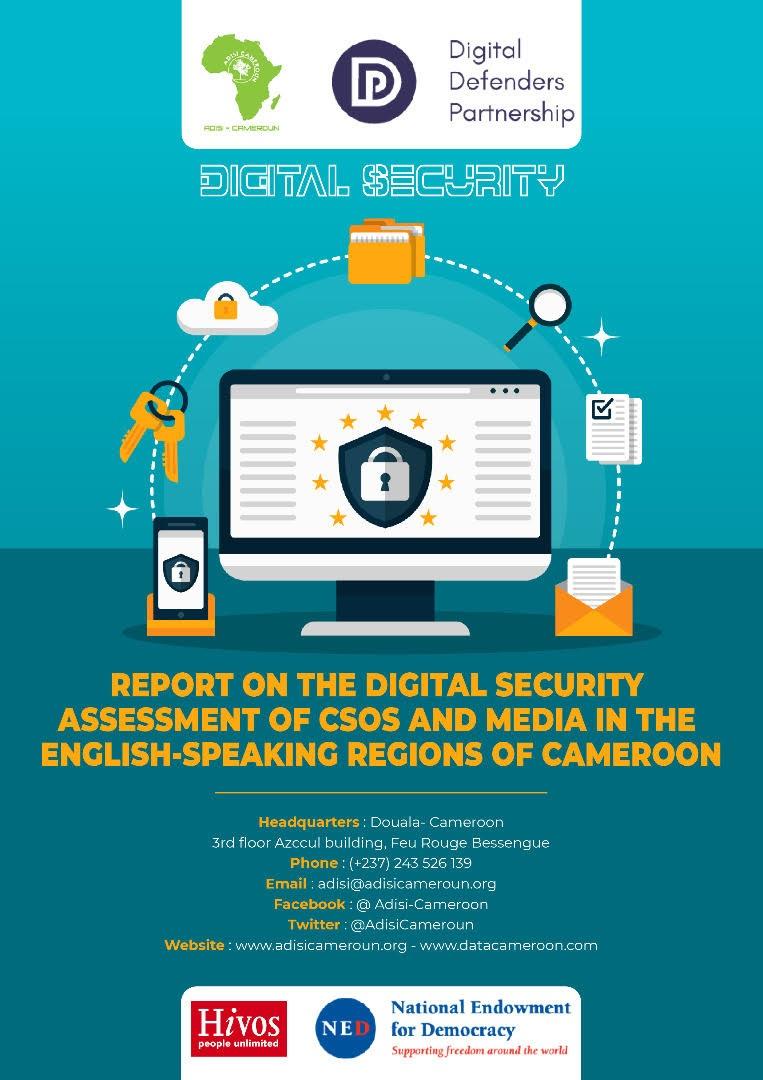 Sécurité numérique :  Plus de la moitié des OSC dans les régions anglophones exposée