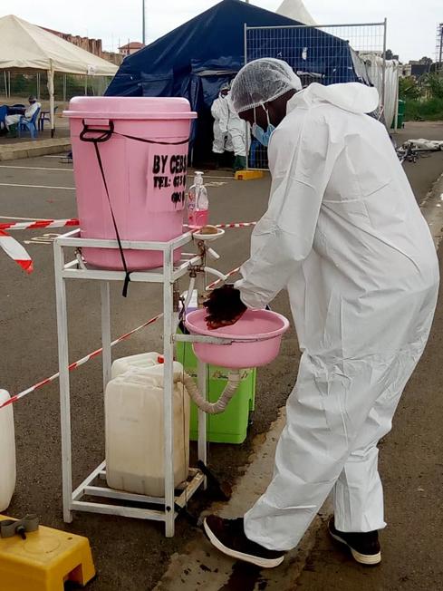 COVID-19 : Les dispositifs préventifs facultatifs à Yaoundé