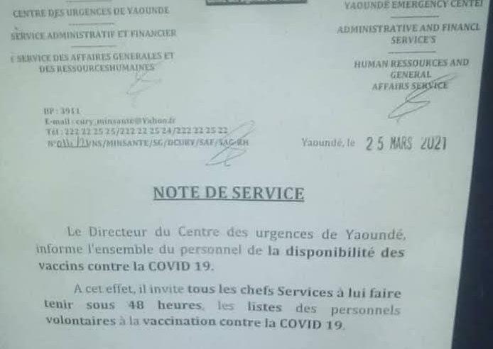 Fact-checking : Le Cury se prépare à une éventuelle vaccination volontaire contre la Covid-19