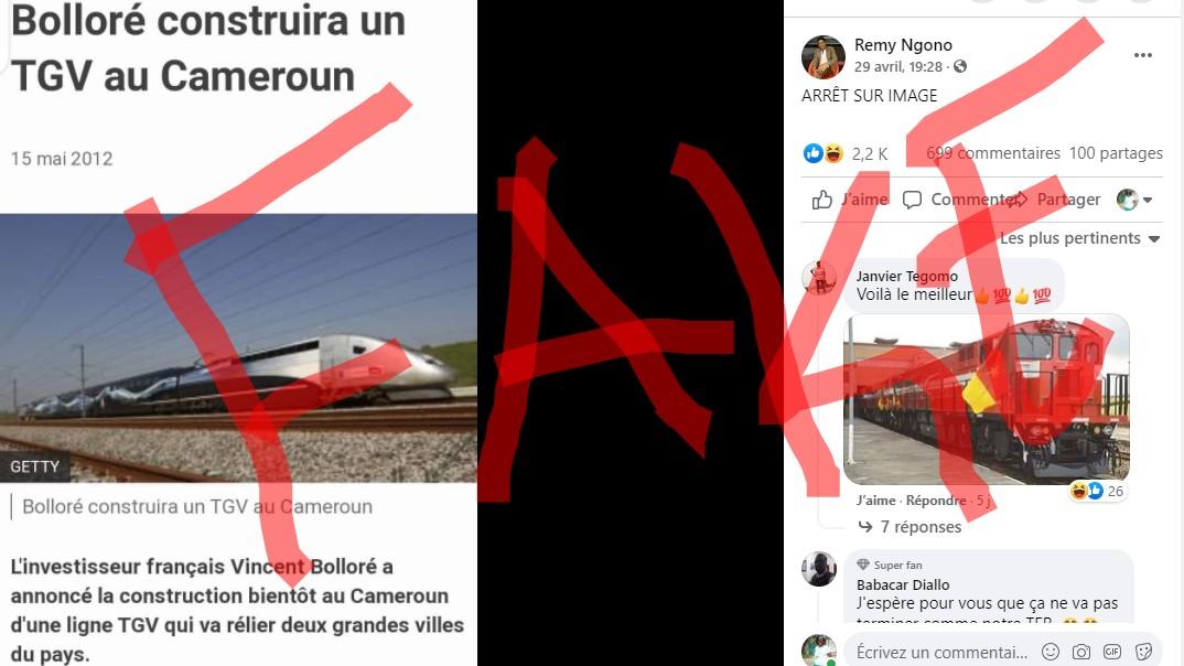 Fact-checking : En 2012, Bolloré n'avait pas promis de TGV au Cameroun