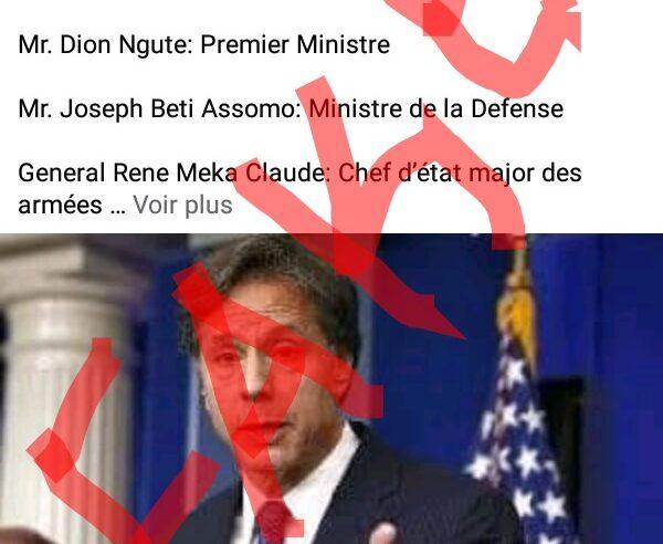 Fact-checking : Aucune personnalité du Cameroun ciblée par Washington pour le moment