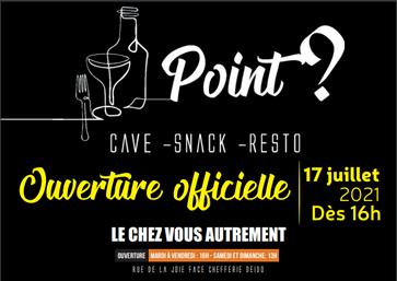 Point ? Cave Snack Resto