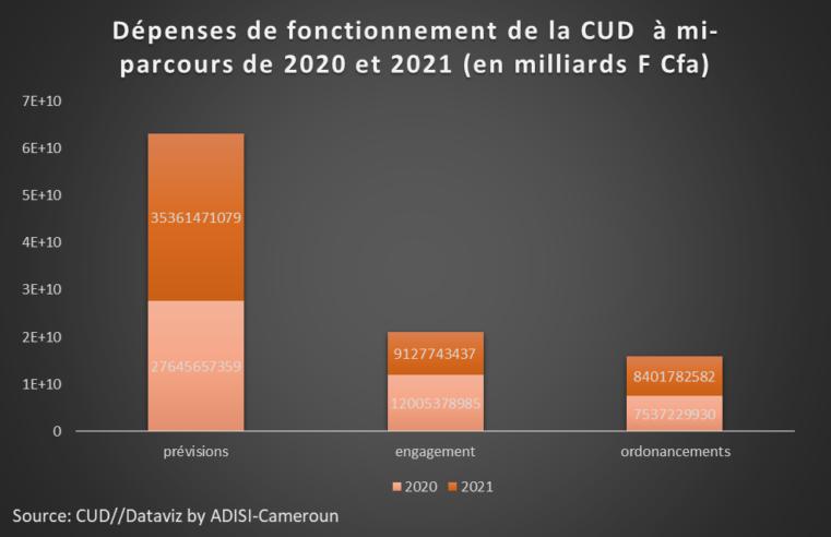 Budget programme : La CUD réalise un taux d'exécution des recettes de 57, 17%