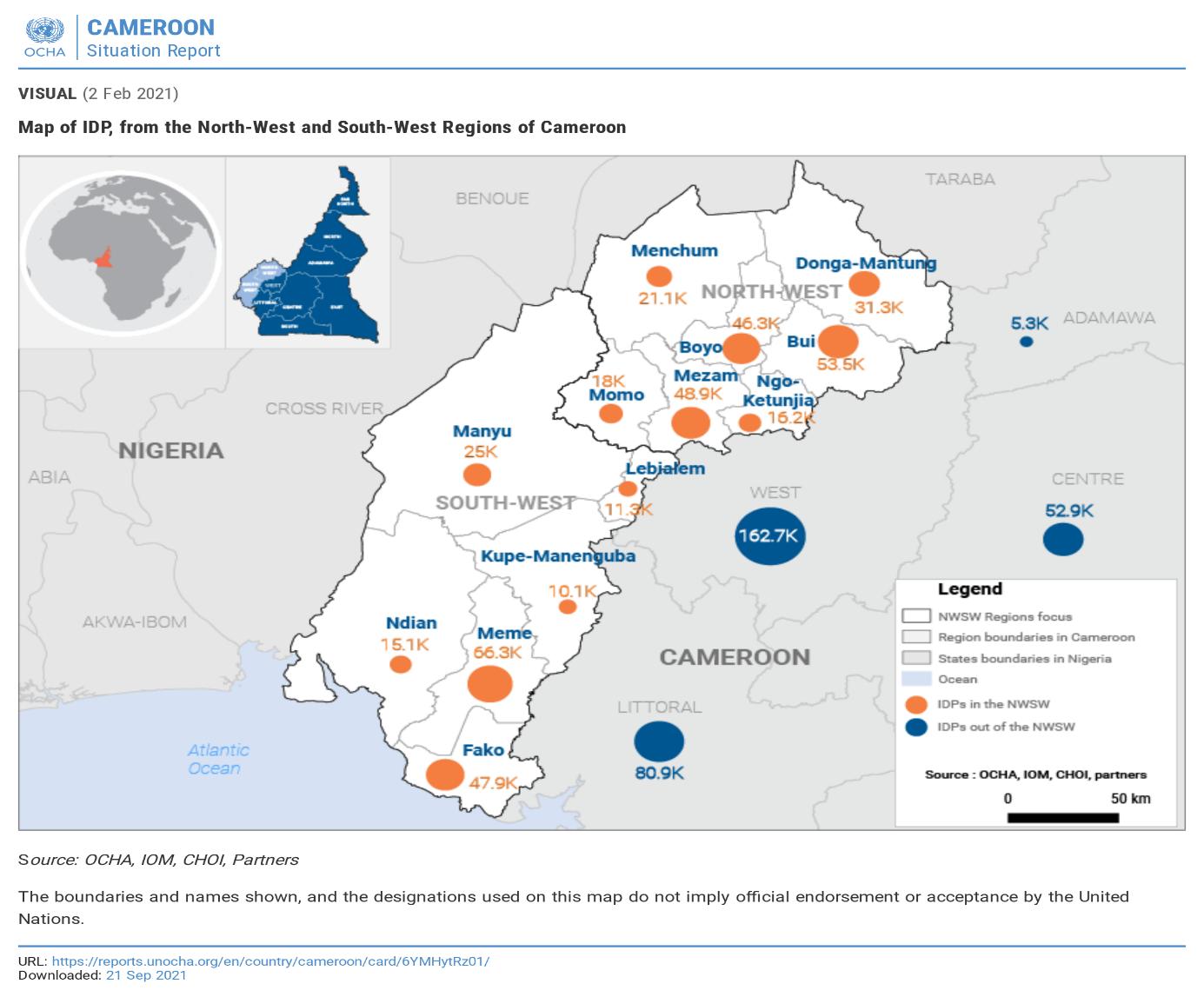 Rentrée scolaire : A Douala, le sort incertain des centaines de déplacés internes.